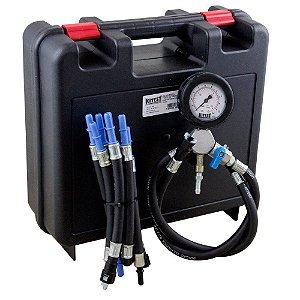 Teste de pressão de combustível para motos