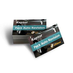 Cartão Pack Auto Revision 01