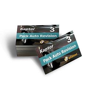 Cartão Pack Auto Revision 03