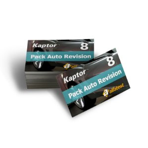 Cartão Pack Auto Revision 08
