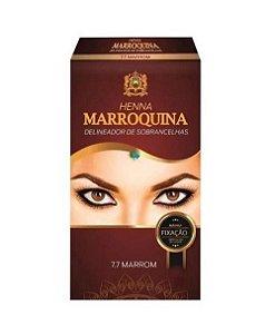 Henna Marroquina Delineador de Sobrancelhas 7.7 Marrom 1,3g