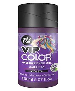 Máscara Pigmentante Vip Color Ametista (Violeta) Natuhair 150ml