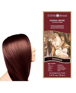Henna Creme Chocolate Surya Brasil 13.12 P 70ml