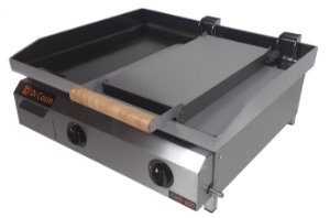 Chapa Bifeteira Di Cozin a Gás CHD-600 - de Bancada - Prensa Pão