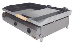 Chapa Bifeteira Di Cozin a Gás CHD-800 - de Bancada - Prensa Pão
