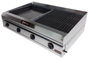 Char Broiler Di Cozin a Gás CBD-860 - de Bancada - Grelhas e Chapa