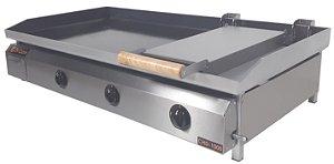 Chapa Bifeteira Di Cozin a Gás CHD-1000 - de Bancada - Prensa Pão