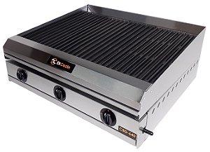 Char Broiler Di Cozin a Gás CBD-640 - de Bancada - Grelhas Total