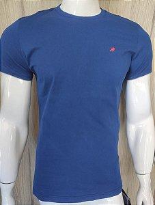 Camiseta Azul Gola Redonda Enfim