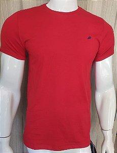 Camiseta Vermelha Gola Redonda Enfim