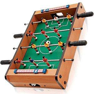 Pebolim Totó Futebol De Mesa 51,0 Cm X 31,0 X 8,0 Cm 12 Joga