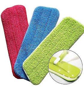 Refil Almofada Para Vassoura Esfregão Mop Spray Microfibra