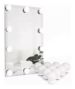 Luz De Espelhos Penteadeira Camarim Maquiagem Camarim Led