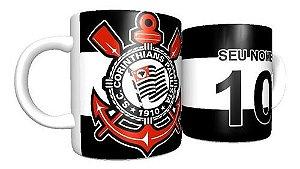 Caneca Personalizada Porcelana Corinthians Promoção