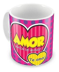Caneca Personalizada Porcelana Amor Namorados Promoção