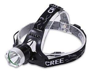 Lanterna Farol Bike Bateria Cabeça Ou Guidão Bicicleta