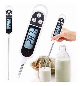 Termômetro Culinário Digital Br  Alimento Bebida Cozinha