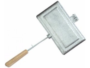 Tostequeira Sanduicheira Aluminio Tostex Qualidade Kit 3 Pçs