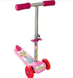 Patinete Scooter Net Mini Princesas Rosa - Zoop Toys