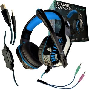 Fone Gamer Headset Knup Pc Ps4 Xbox One Microfone 7.1 Kp-491