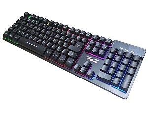teclado gamer semi-mecanico - zyg 800