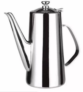 Bule P/ Café Chá Aço Inox 1,5l  Pronta Entrega