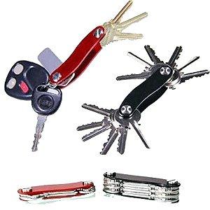 Chaveiro Key Smart Organizador De Chaves Preto Ou Vermelho