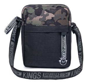 Shoulder Bag Bolsa Transversal Kings Militar Original Moda