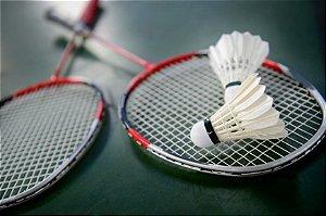 Badminton 2 Raquetes + 2 Petecas Pronta Entrega