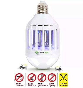 Kit 2 Lampada Led Luminaria Mata Mosquitos Mosca Insetos