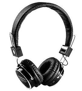 Fone Ouvido Headphone Sem Fio Bluetooth Cartão Sd Fm B-05 Preto