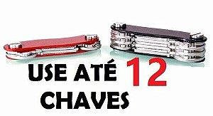 Chaveiro Clever Key Smart Organizador De Chaves PRETO