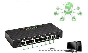 Switch Hub 8 Portas 10/100 mbps