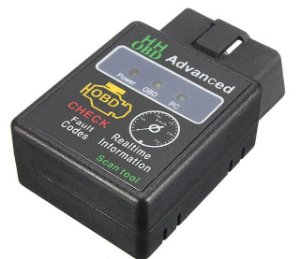 Mini Scanner Automotivo Obd2 Bluetooth Elm-327 Versão 2019 P
