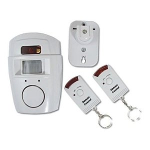 Alarme Residencial Kit com 1 Sensor de Presença e 2 Controle