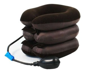 Colar Tração Cervical Massagem Relaxamento
