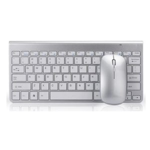 Kit Teclado E Mouse Sem Fio Slim Wireless estilo Imac
