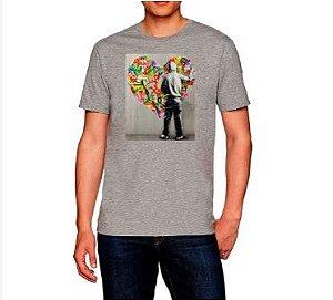 Kit 4 Camisetas Estampada Masculina Artes De Rua