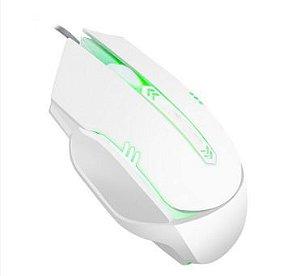 Mouse Gamer Branco RGB nova geração V03