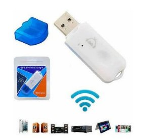 Receptor Adaptador Usb Wireless Dongle Bluetooth Para Carro