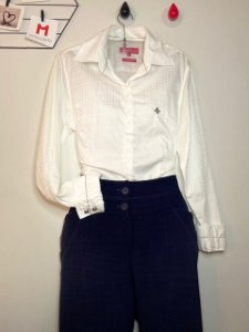 Camisa Branca Dudalina