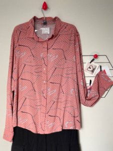 Camisa Rosé Correntes