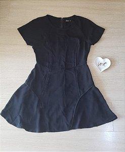 Vestido Rodado Preto