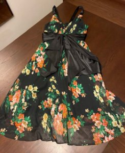 Vestido Longuete Florido