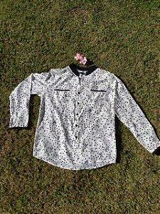 Camisa Manga Longa com Estrelas