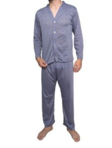 Pijama Masculino de Botão