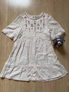 Vestido Zara Infantil com Bordado