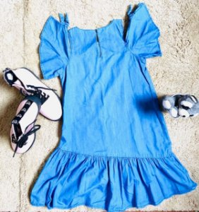 Vestido Jeans Zara