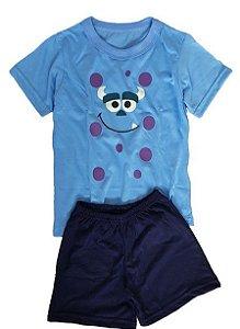 Pijama Infantil Monstros S.A.
