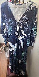 Vestido Florido Midi